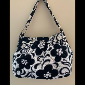 Vera Bradley Reversible Tote in Night and Day